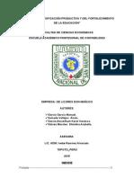 Planeamiento Empresa de Licores Don Manuelito