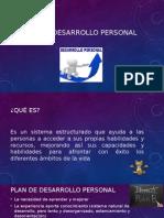3.3.5 Programa Desarrollo Personal