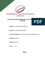 Trabajo 1 de Investigación Formativa