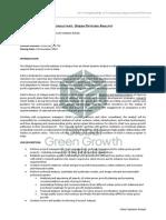 GGGI Job Posting Consultant Urban Systems Analyst