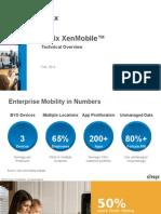 Citrix XenMobile Tech Deck - V1.6