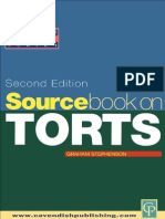 Sourcebook on Tort