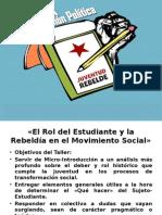 MICROTALLER 1° Juventud Rebelde UFRO.