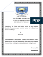 Evaluation of the Efficacy and Residual Activity of three Candidate Insecticide Formulations against Anopheles gambiae s.l. in Jimma Zone, Southwestern Ethiopia.pdf