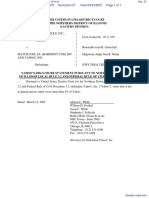 Spark Network Services, Inc. v. Match.Com, LP et al - Document No. 27