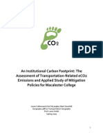 Macalester Carbon Footprint