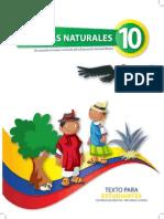 Libro de Estudiante Naturales 10mo