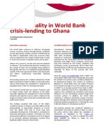 Under the Influence of the World Bank Lay Out