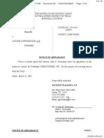 Taylor et al v. Acxiom Corporation et al - Document No. 25