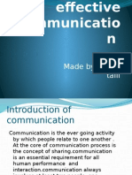 Seven c's of Effective Communication