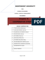 Mba _group 5_ Cooperative   Strategy Final