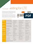 Aricent Solution Brief LTE Testing