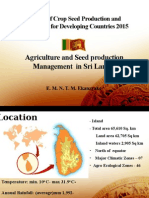 Country Report -2015- Sri Lanka
