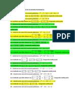 Algebra lineal unidad numero 1 - Profesor Encinas