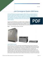 Cisco Convergence 2000series Deployment Guide