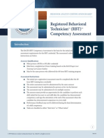 RBT Competency Assessment