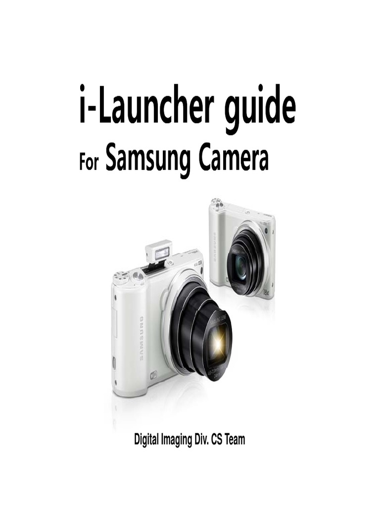 I-Launcher Guide for SEC Camera ENG   Personal Computers