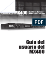 LexiconMX400Manual Spn Original