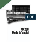 MX200Manual French Original