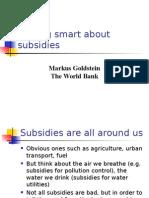 Markus Subsidies