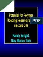 Randy Se Right Potencial para  la inyección de polímeros en yacimientos de crudo viscoso.