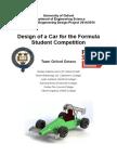 Oxford Octane Formula Student Report