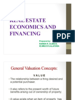 Real Estate Economics and Financing