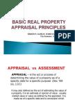 Real Property Appraisal Principles