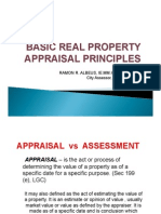 Real Property Appraisal Principles