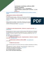 CINEMÁTICA 1 movimiento rectilíneo uniforme MRU Ejercicios y problemas resueltos.docx