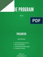 Node Program 2