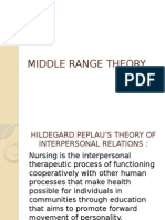Hildegard Peplau Interpersonal Relations