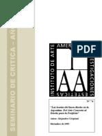 Las teorías del buen diseño en la Argentina. Del Arte Concreto al Diseño para la Periferia. (1995)