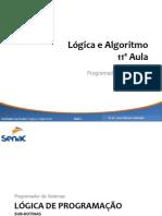 UC - Logica e Algoritmo_José_Valadão_Aula11