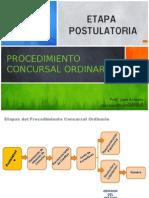 Derecho Concursal.02 Etapa Postulatoria