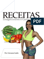 E-book Receitas Emagrecimento e Ganho Muscular