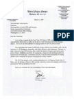 3/31/99 letter from Sen. Dick Durbin to Sen. Arlen Specter urging $1m funding for SALF;  Sen. Durbin has ignored mutliple inquiries from reporters, see http://tinyurl.com/ctda9oe and http://tinyurl.com/laptlmz