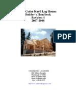 Log Home Building Manual