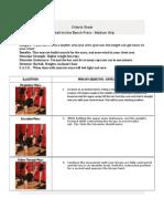 criteria sheet 5