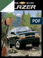 Chevrolet Blazer 2002 Misc Documents-Brochure
