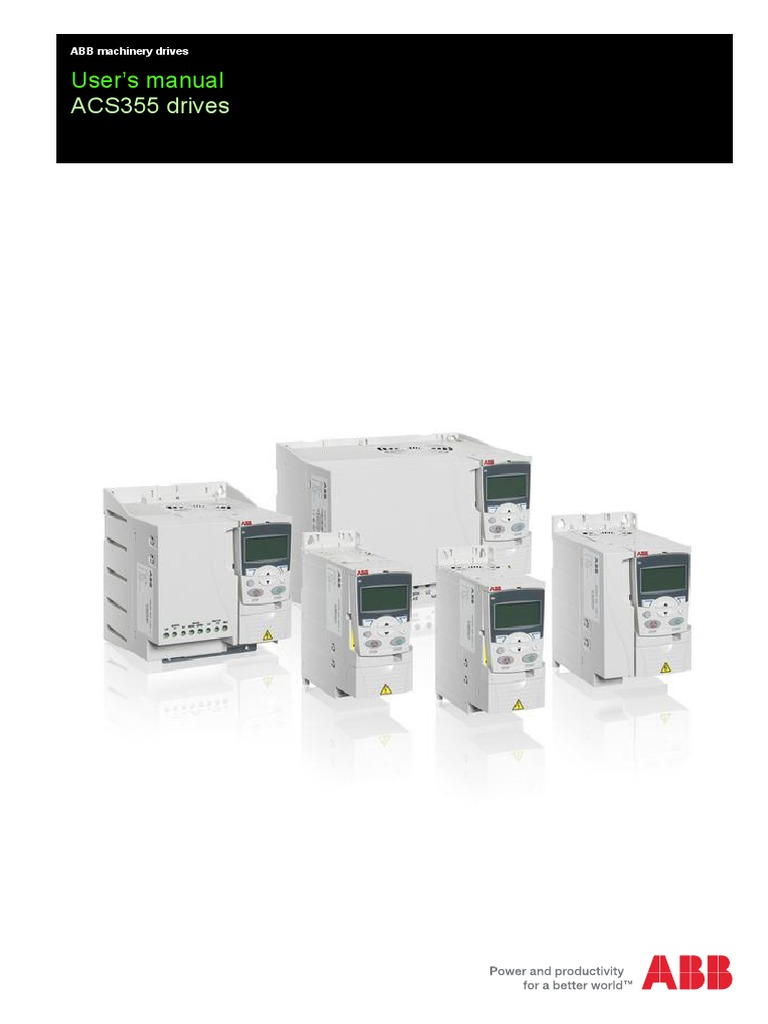 Abb Acs355 Manual | Engineering | Electrical Engineering on