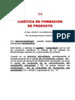 Cinetica Formacion Productos