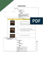 criteria sheet 15