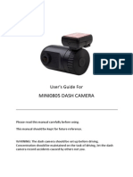 Dash Camera Mini0805 Manual Philippines