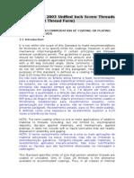 ASME B1.1 – Parcial (revestimento)