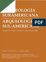 Arqueología Suramericana. PDF