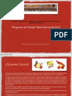 Programa Taller Elemental