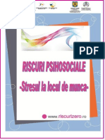 Riscurile psihosociale