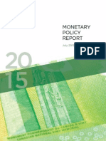 Monitary Policy Report July 2015