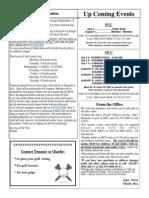 MCC Newsletter July-August 2015 Insert